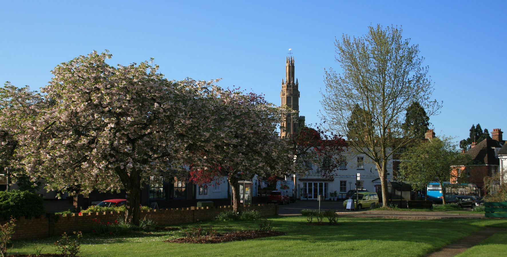 Tower Village View Landscape