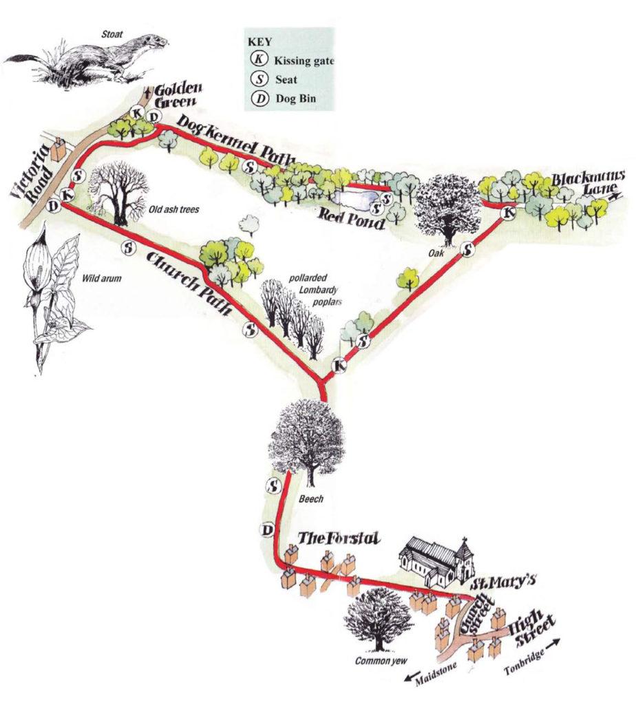 Access Trail map