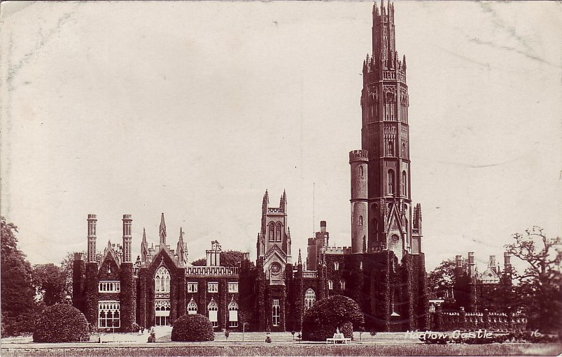 Hadlow Castle circa 1890