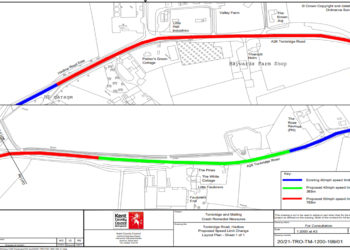 A26 proposed speed limits