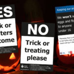 Haloween Trick or Treat posters