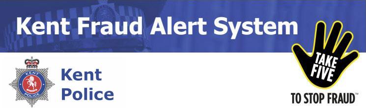 Kent Fraud Alert System - Take Five to Stop Fraud