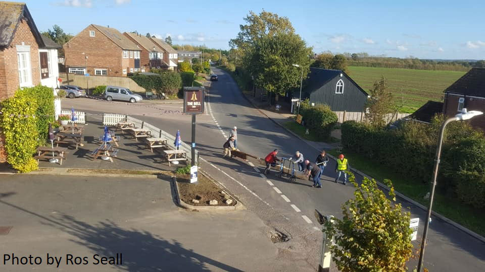 Manoeuvring the new Golden Green post