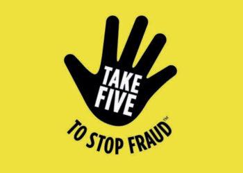 Take 5 to stop fraud