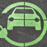 Electric charging point marking