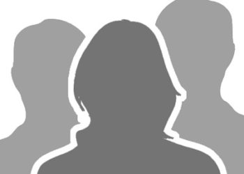 Silhouette of 3 people
